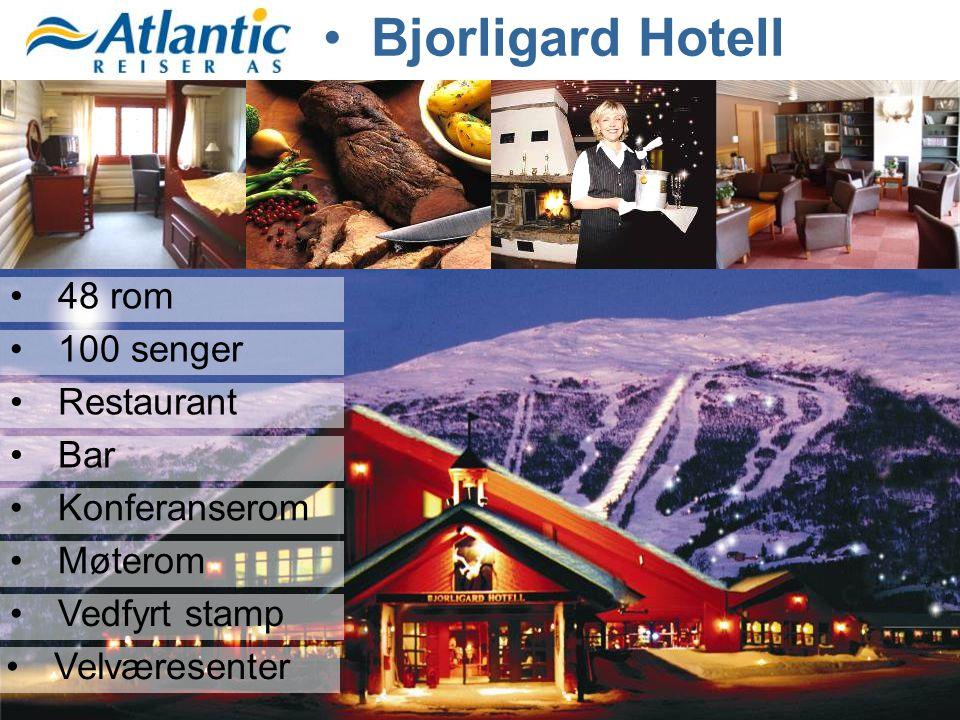 Bjorligard Hotell 48 rom 100 senger Restaurant Bar Konferanserom