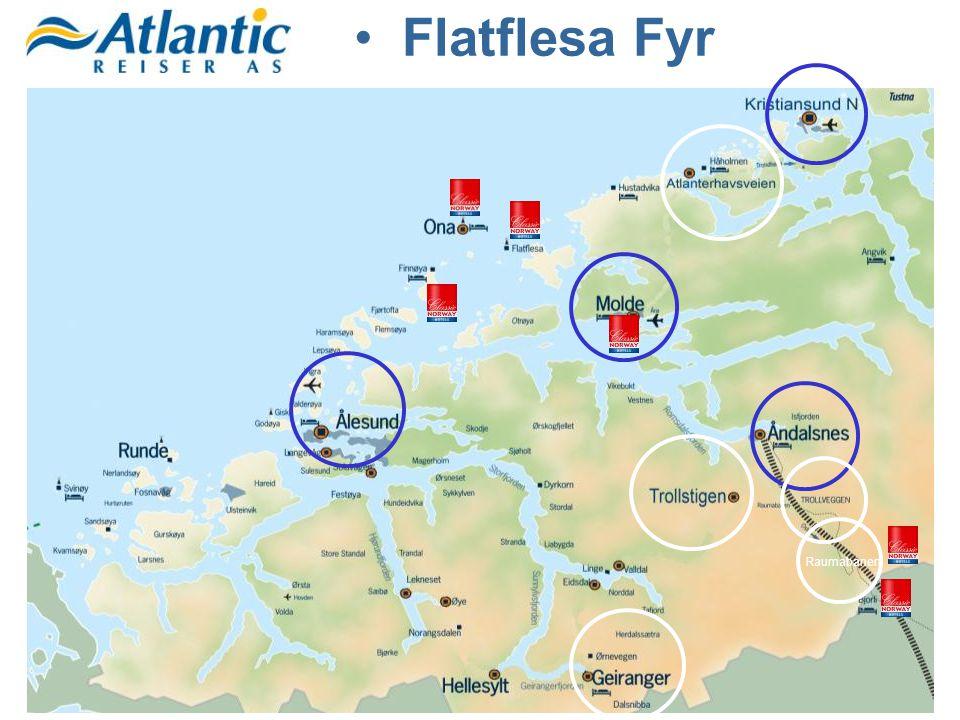 Flatflesa Fyr Raumabanen