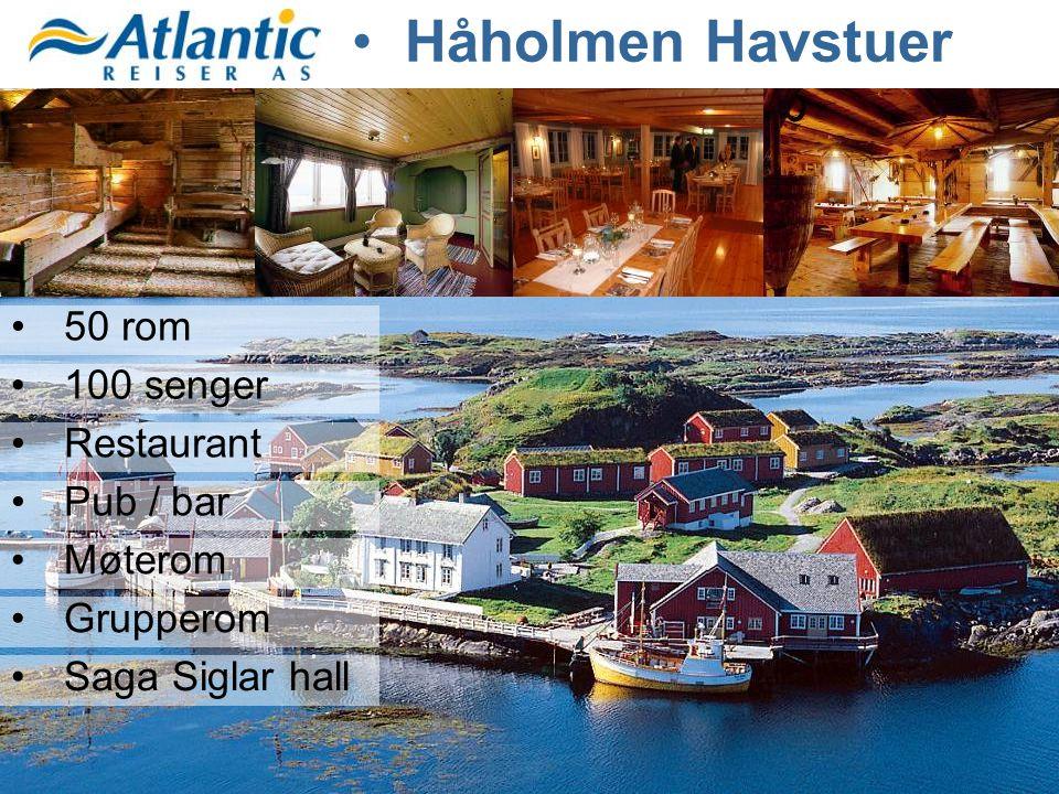 Håholmen Havstuer 50 rom 100 senger Restaurant Pub / bar Møterom