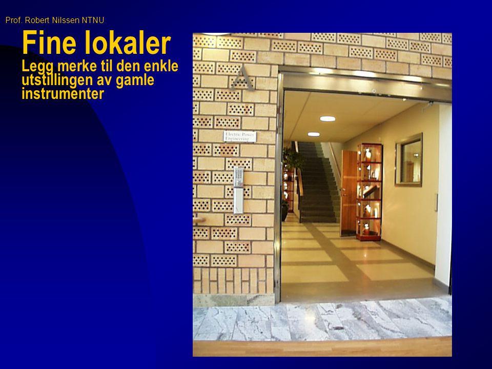 Fine lokaler Legg merke til den enkle utstillingen av gamle instrumenter