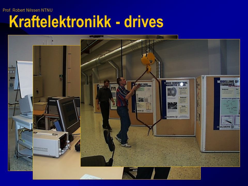 Kraftelektronikk - drives