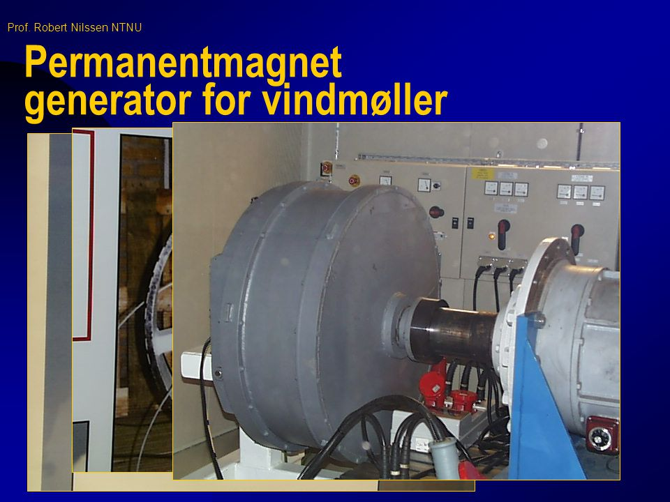 Permanentmagnet generator for vindmøller
