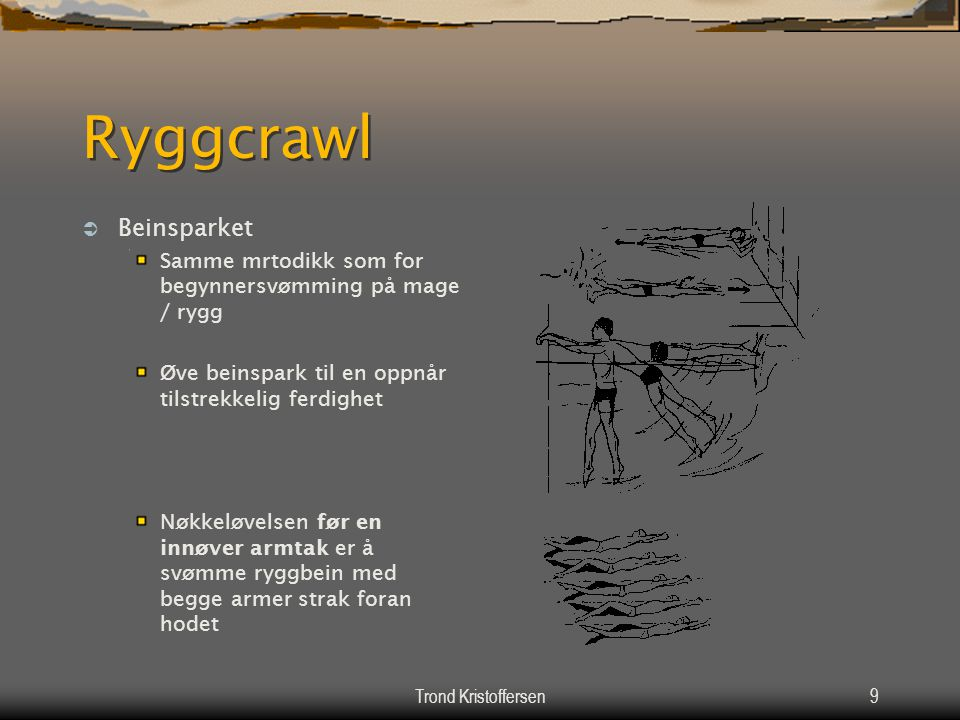 Ryggcrawl Beinsparket