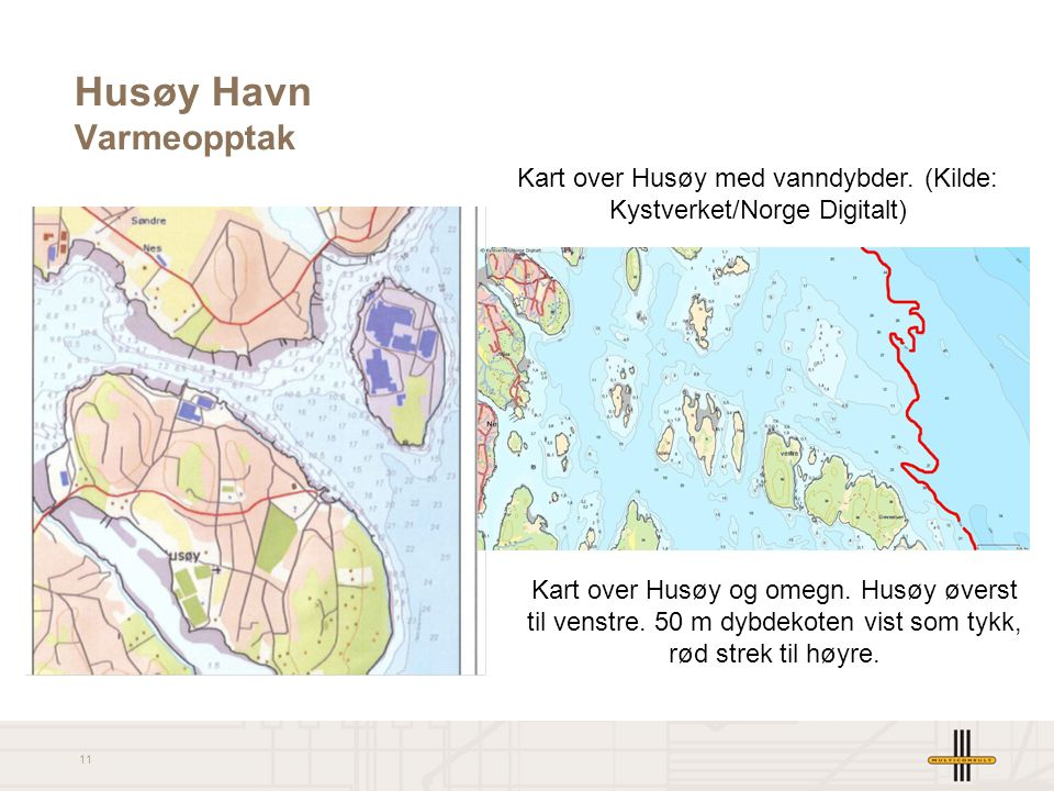 Husøy Havn Varmeopptak