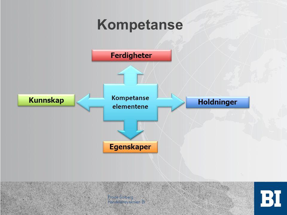 Kompetanseutvikling som konkurransefaktor i reiselivet