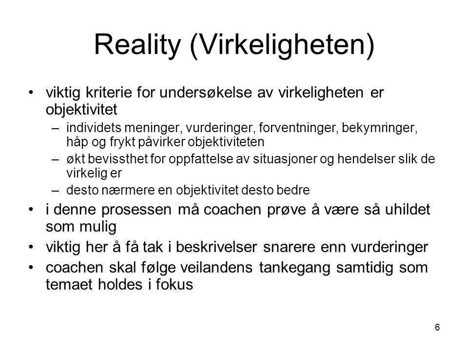 Reality (Virkeligheten)