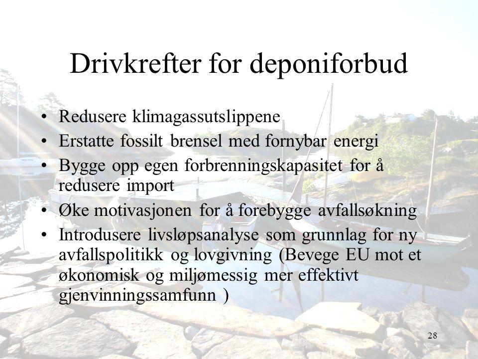 Drivkrefter for deponiforbud