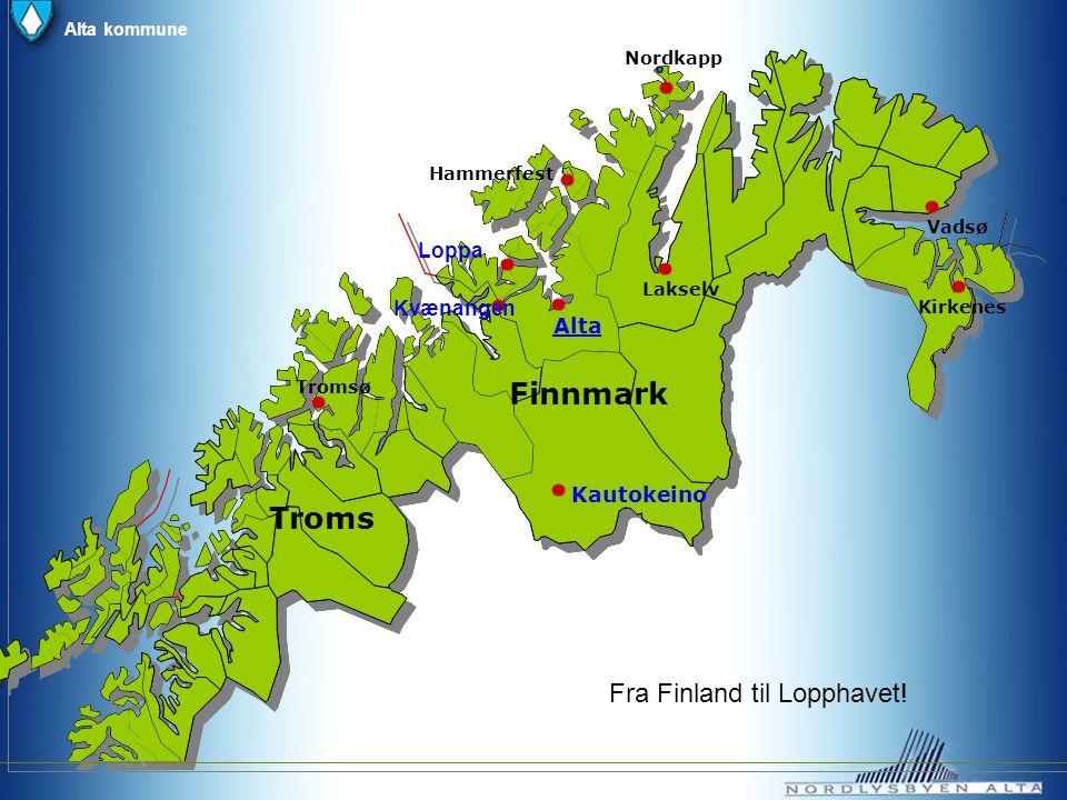 Finnmark Troms Fra Finland til Lopphavet! Loppa Kvænangen Alta