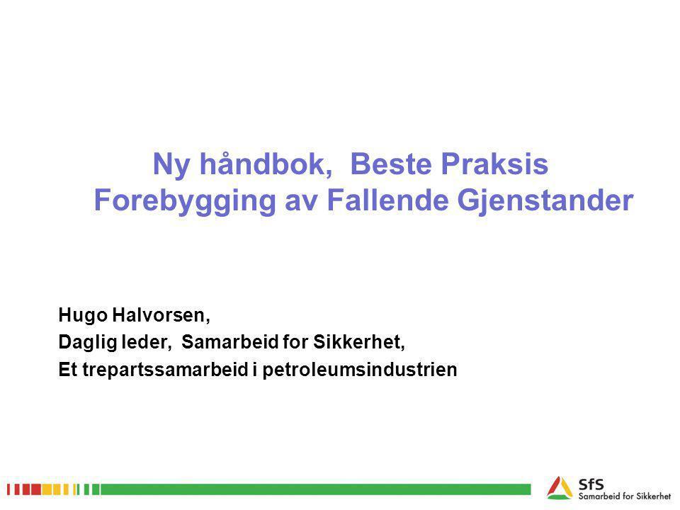 Ny håndbok, Beste Praksis Forebygging av Fallende Gjenstander