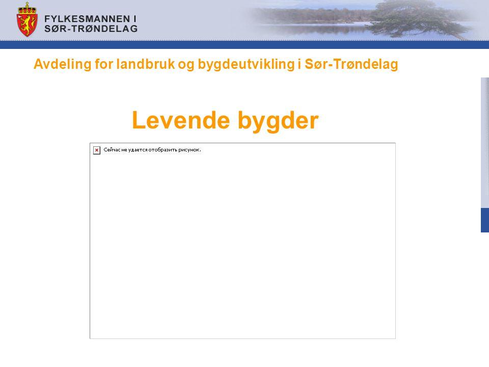 Avdeling for landbruk og bygdeutvikling i Sør-Trøndelag