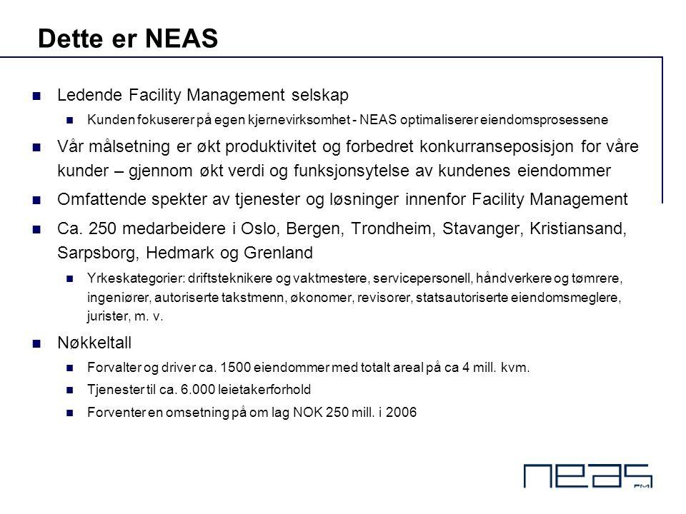 Dette er NEAS Ledende Facility Management selskap