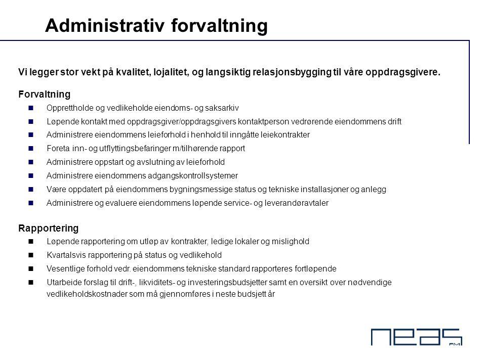 Administrativ forvaltning