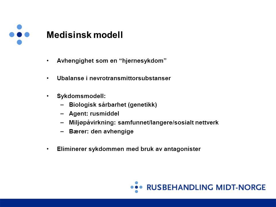 Medisinsk modell Avhengighet som en hjernesykdom