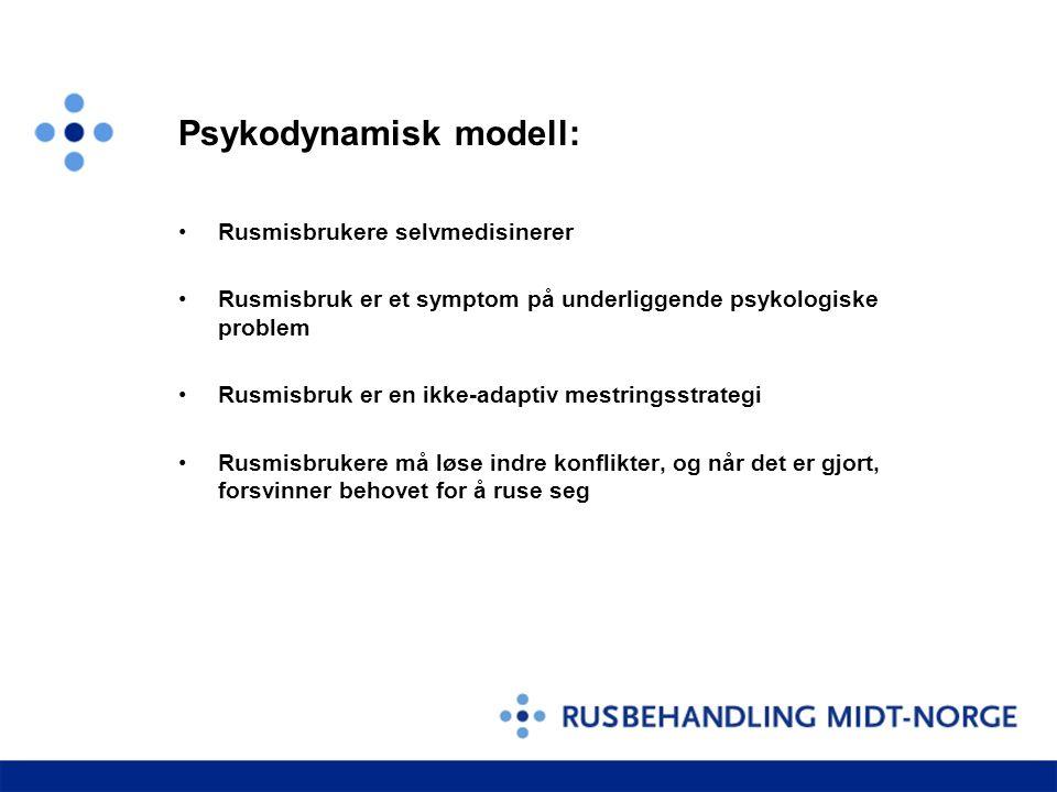 Psykodynamisk modell: