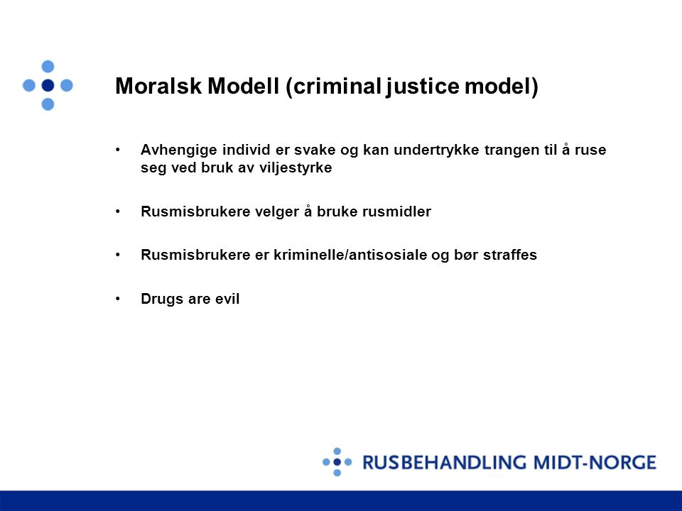 Moralsk Modell (criminal justice model)
