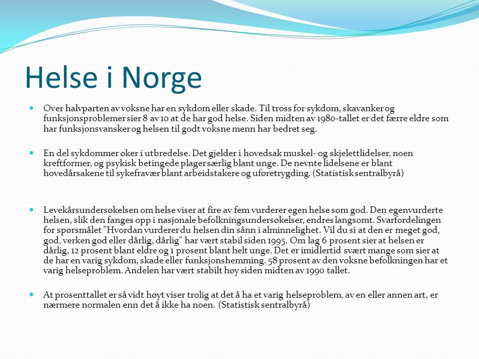 Helse i Norge