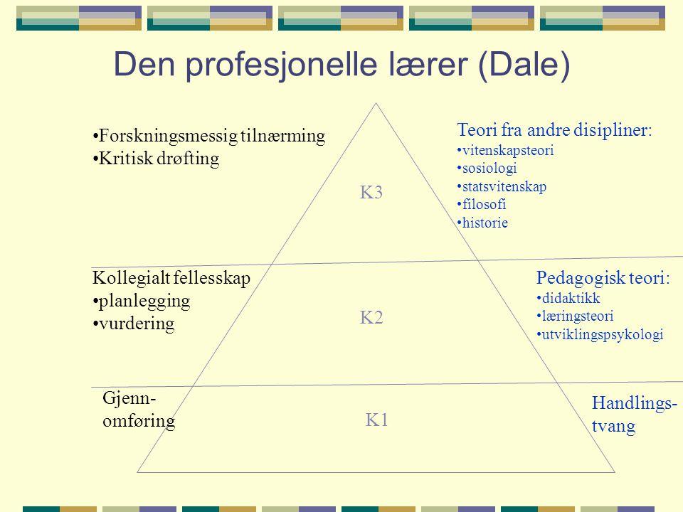 Den profesjonelle lærer (Dale)
