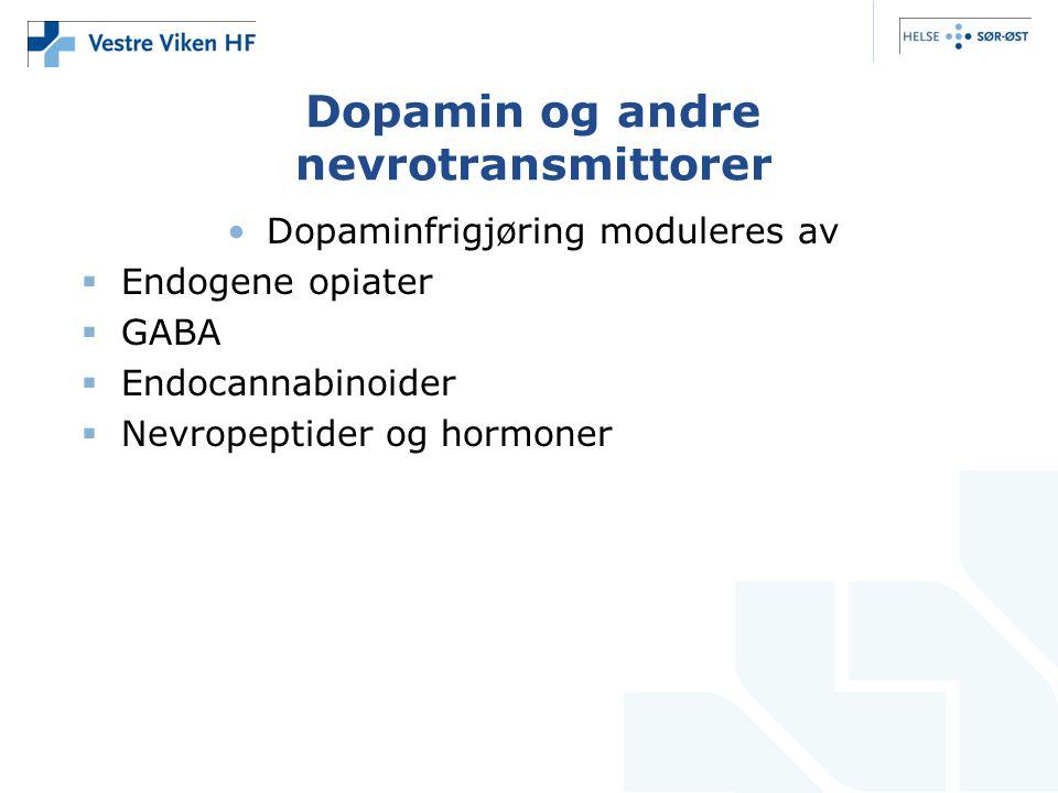 Dopamin og andre nevrotransmittorer