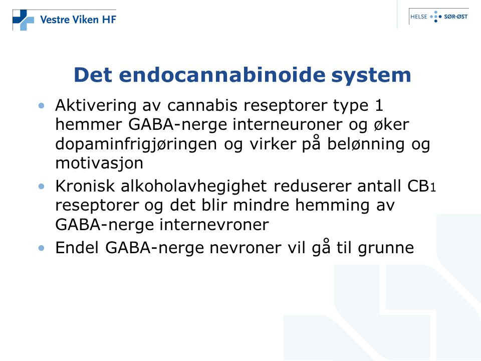 Det endocannabinoide system