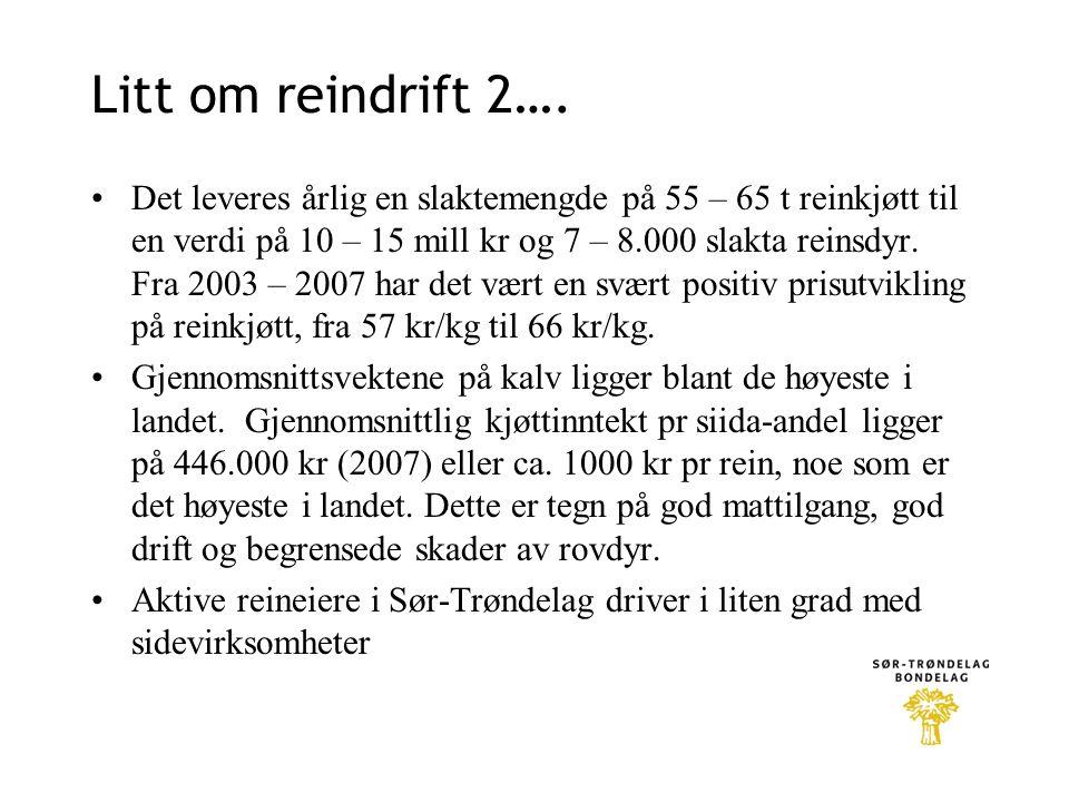 Litt om reindrift 2….