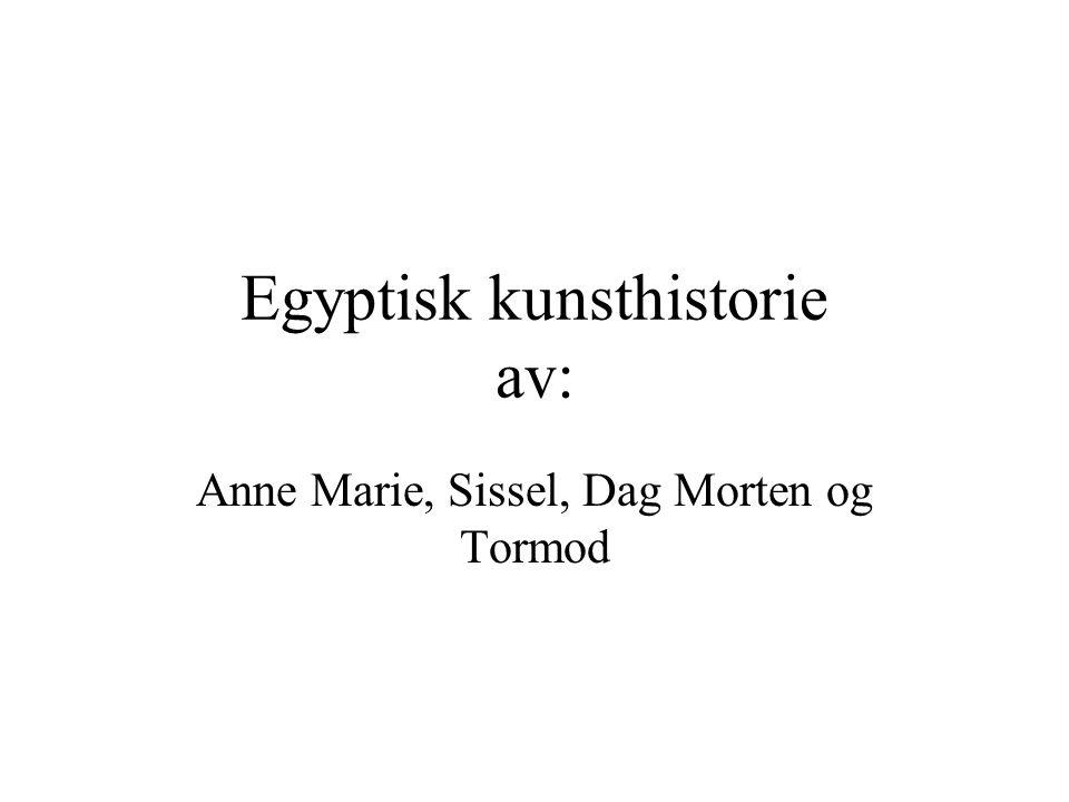 Egyptisk kunsthistorie av: