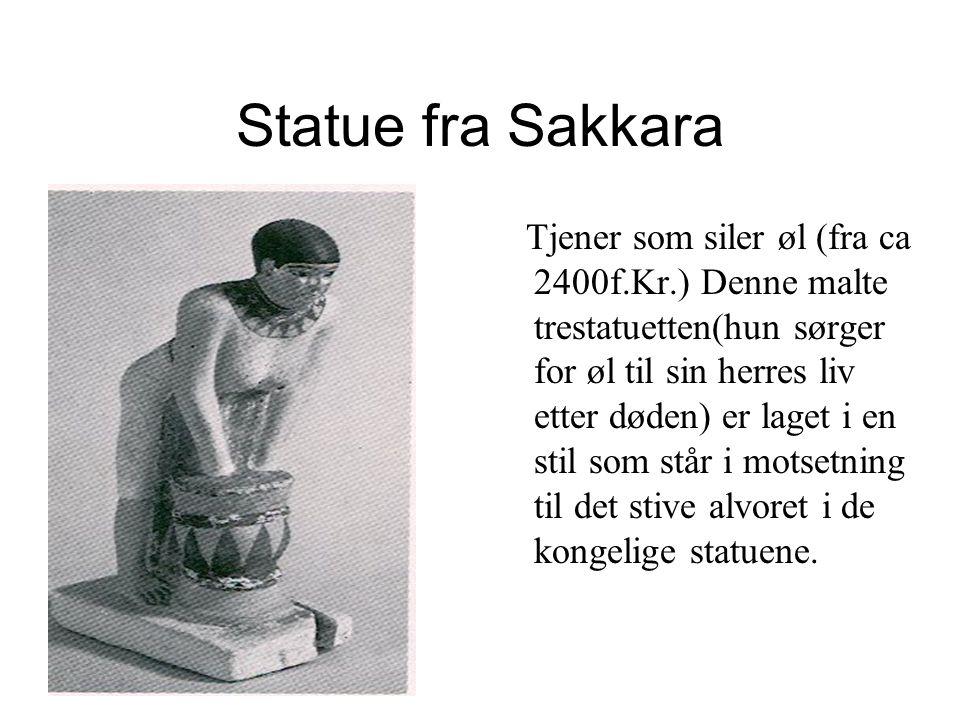 Statue fra Sakkara