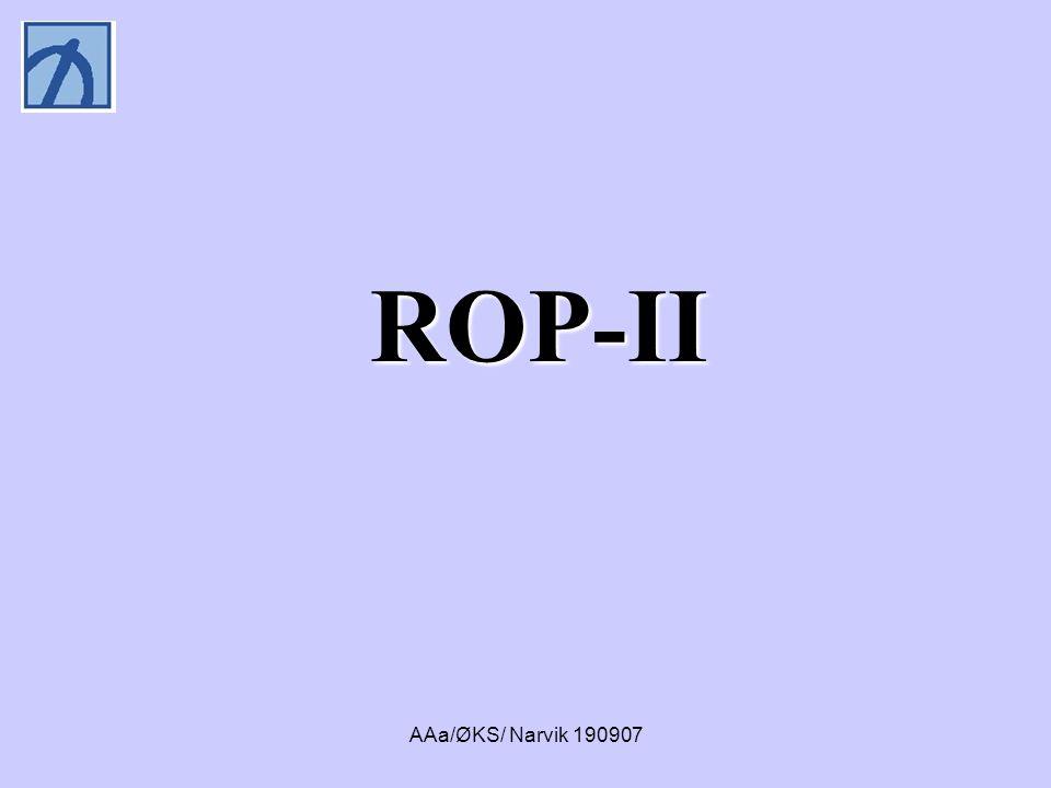 ROP-II AAa/ØKS/ Narvik 190907