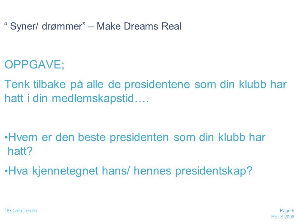 Syner/ drømmer – Make Dreams Real