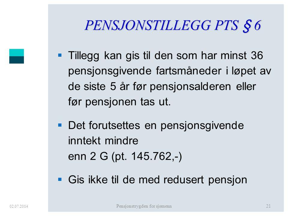 Pensjonstrygden for sjømenn