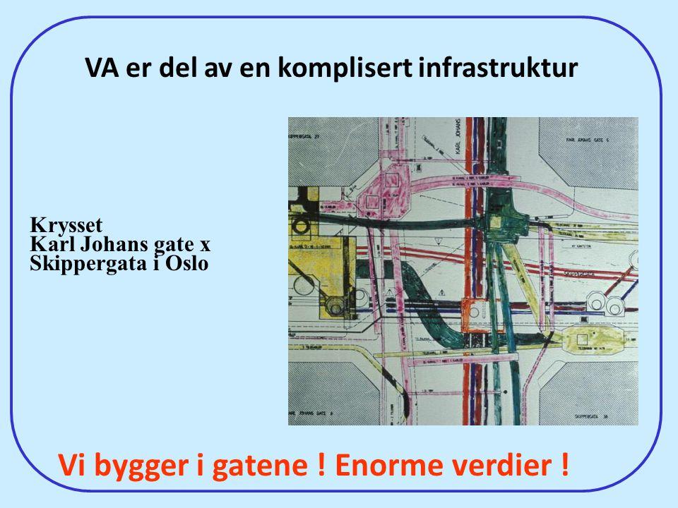 VA er del av en komplisert infrastruktur
