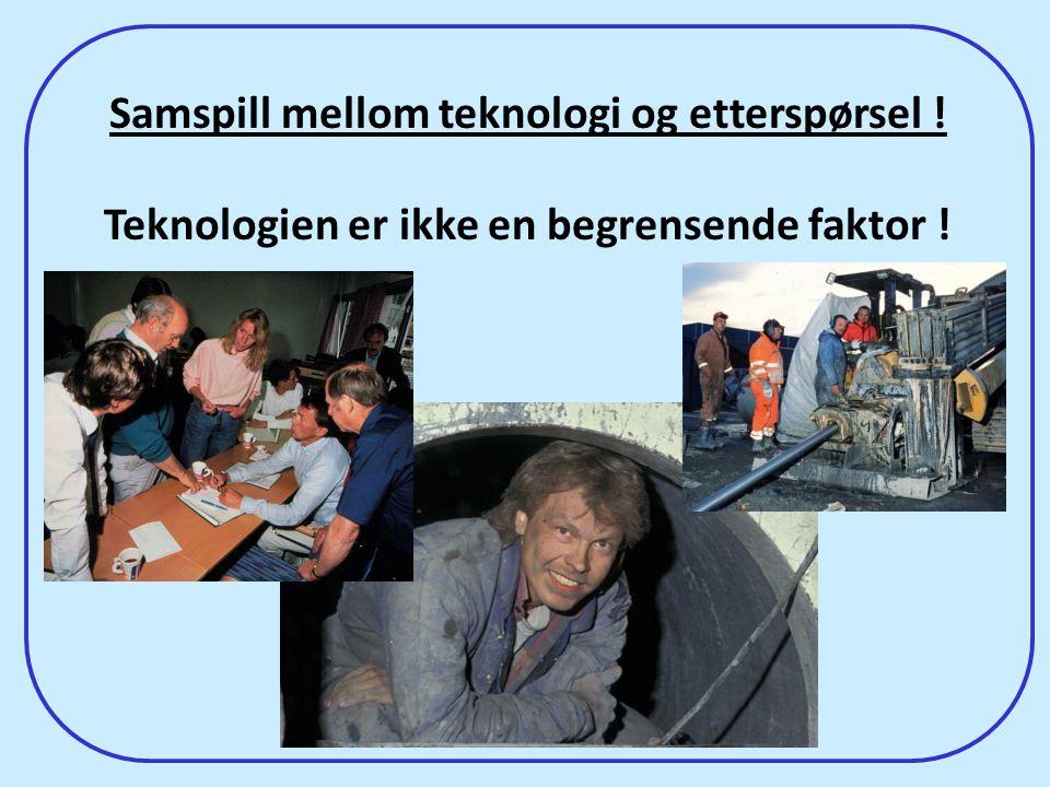 Samspill mellom teknologi og etterspørsel !