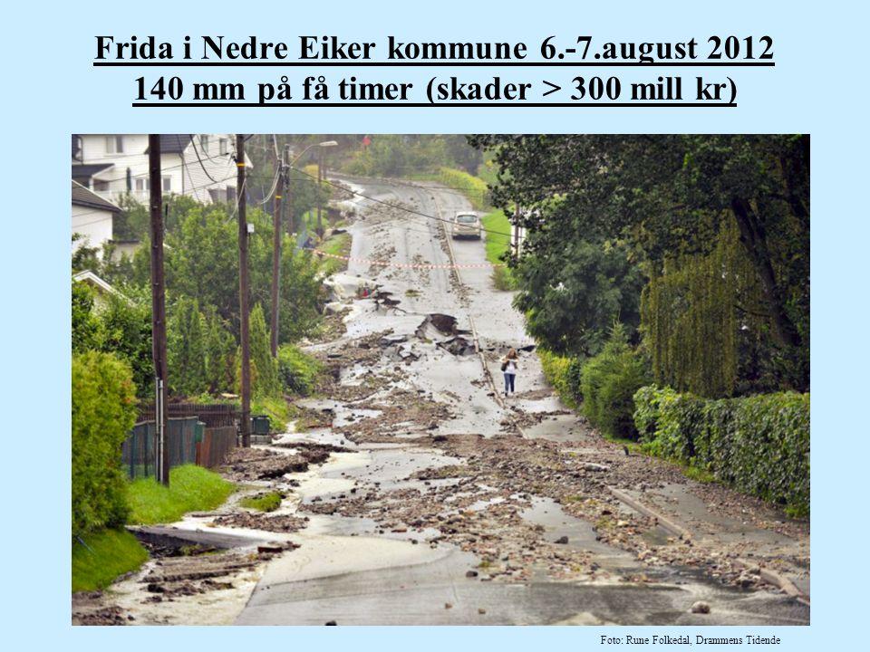 Frida i Nedre Eiker kommune 6. -7