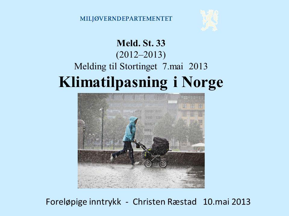 Klimatilpasning i Norge