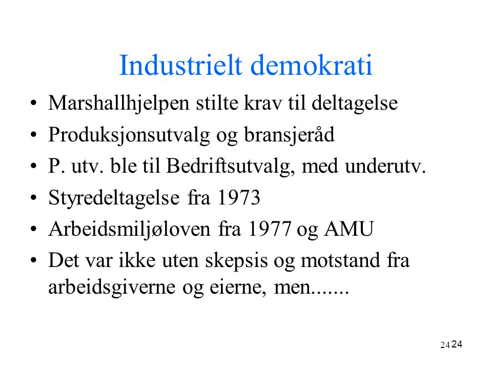 Industrielt demokrati