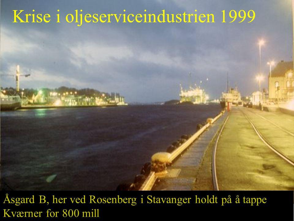 Krise i oljeserviceindustrien 1999