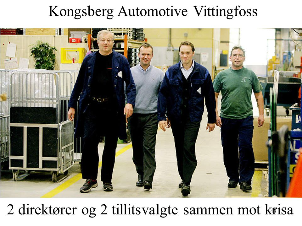 Kongsberg Automotive Vittingfoss