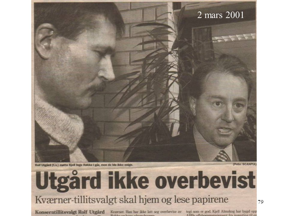 2 mars 2001