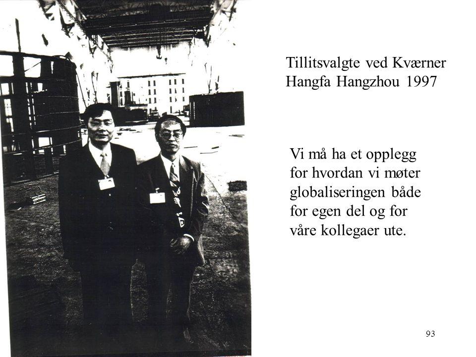 Tillitsvalgte ved Kværner