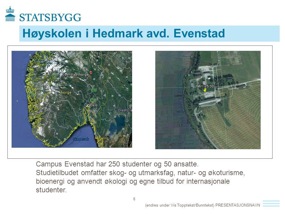 Høyskolen i Hedmark avd. Evenstad