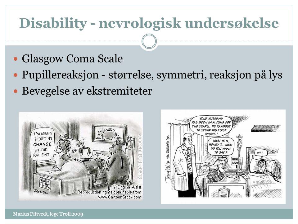 Disability - nevrologisk undersøkelse