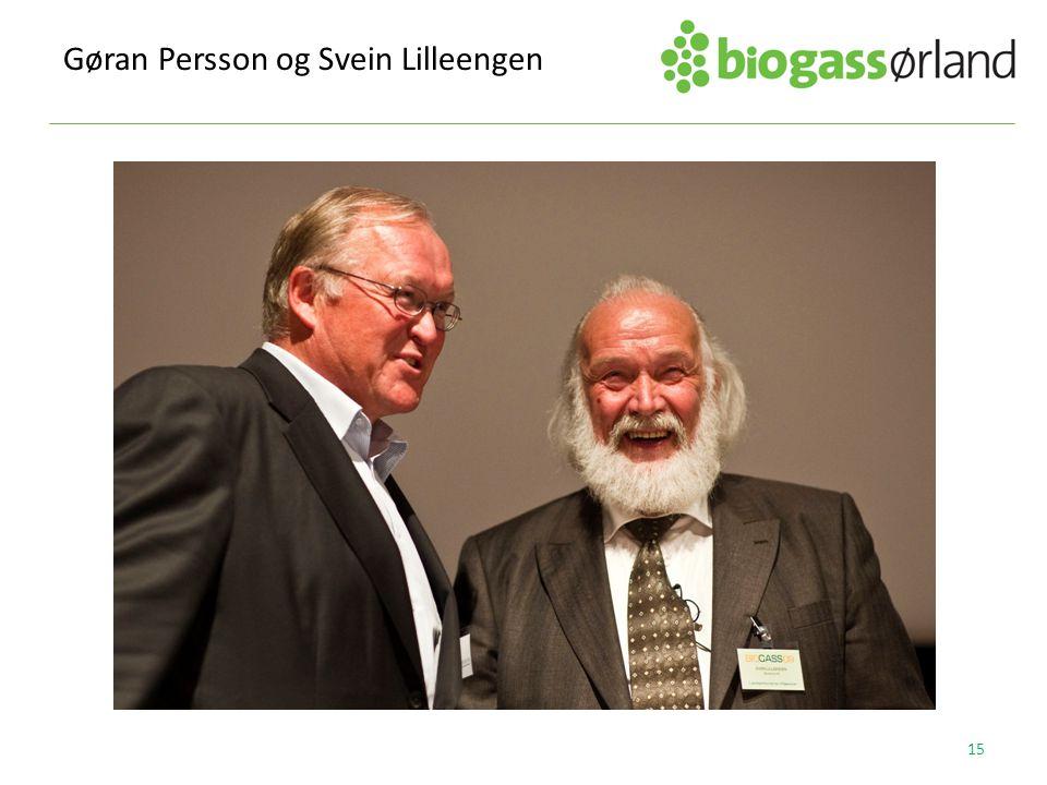 Gøran Persson og Svein Lilleengen