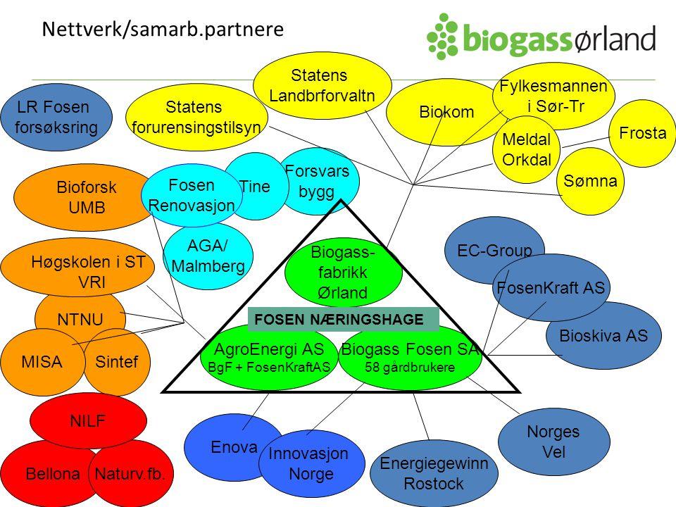 Nettverk/samarb.partnere