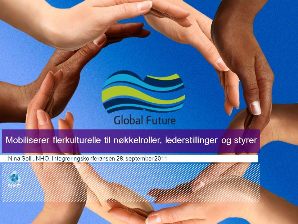 Mobiliserer flerkulturelle til nøkkelroller, lederstillinger og styrer