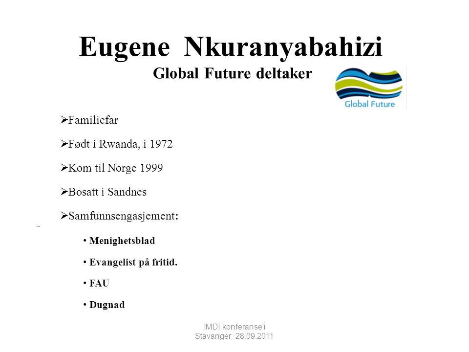 Eugene Nkuranyabahizi Global Future deltaker