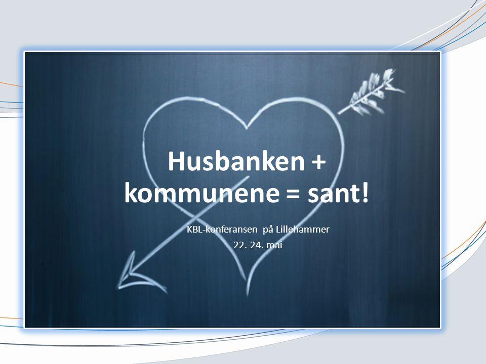 Husbanken + kommunene = sant!