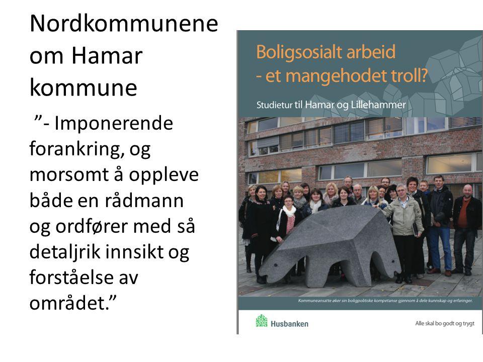 Nordkommunene om Hamar kommune