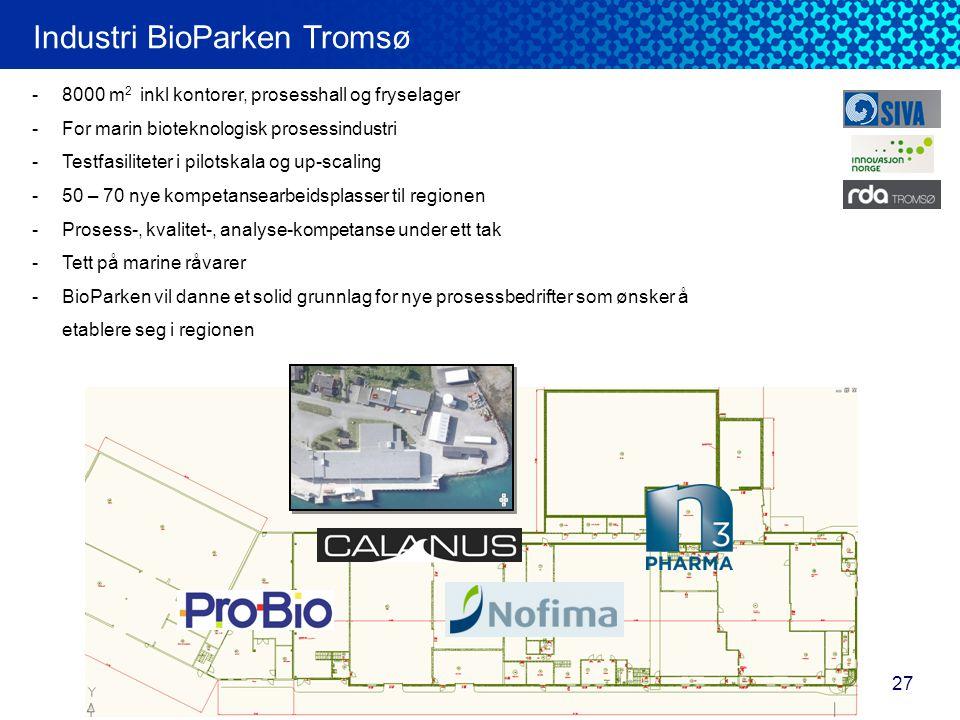 Industri BioParken Tromsø