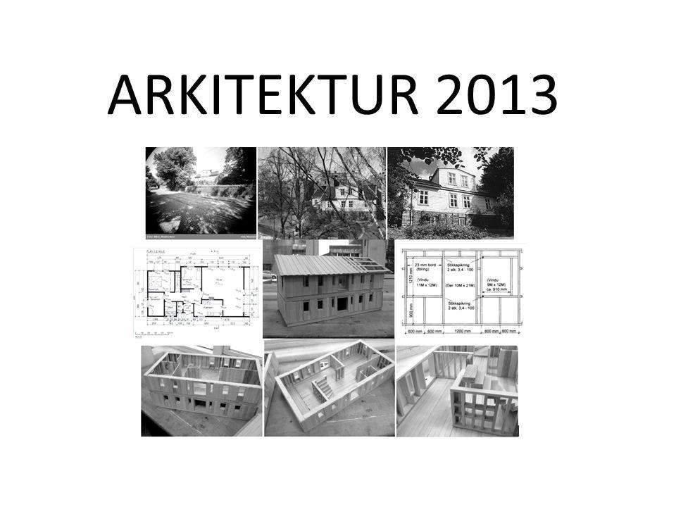 ARKITEKTUR 2013