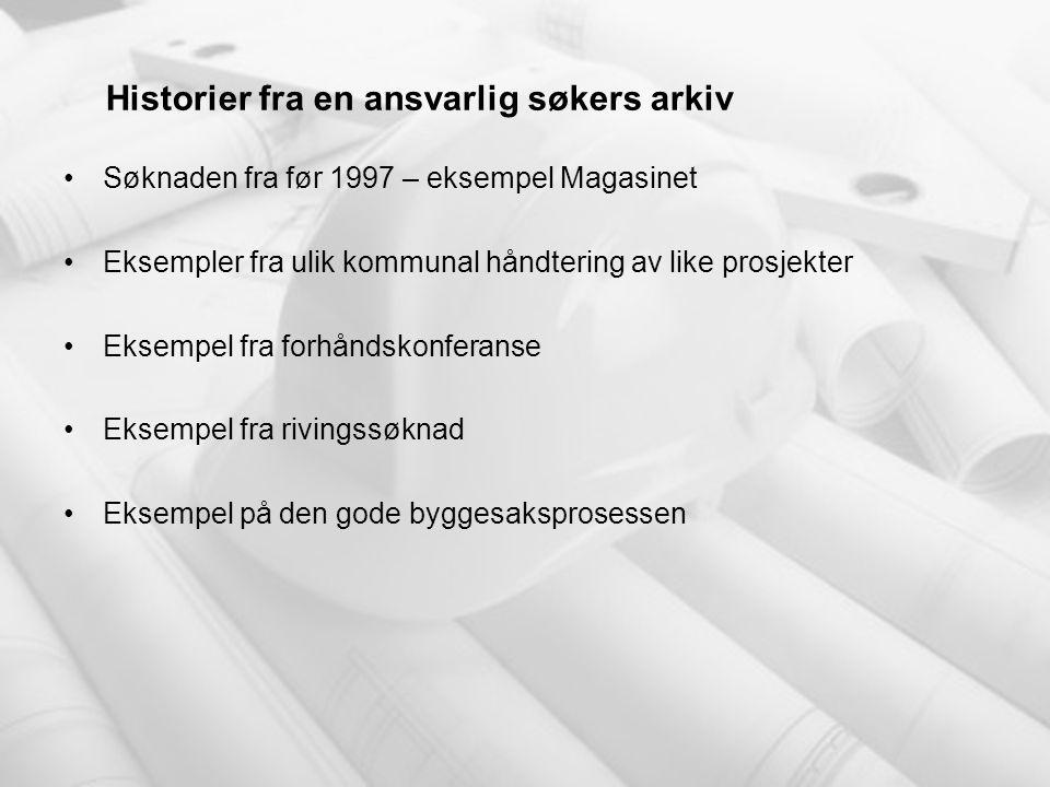Historier fra en ansvarlig søkers arkiv