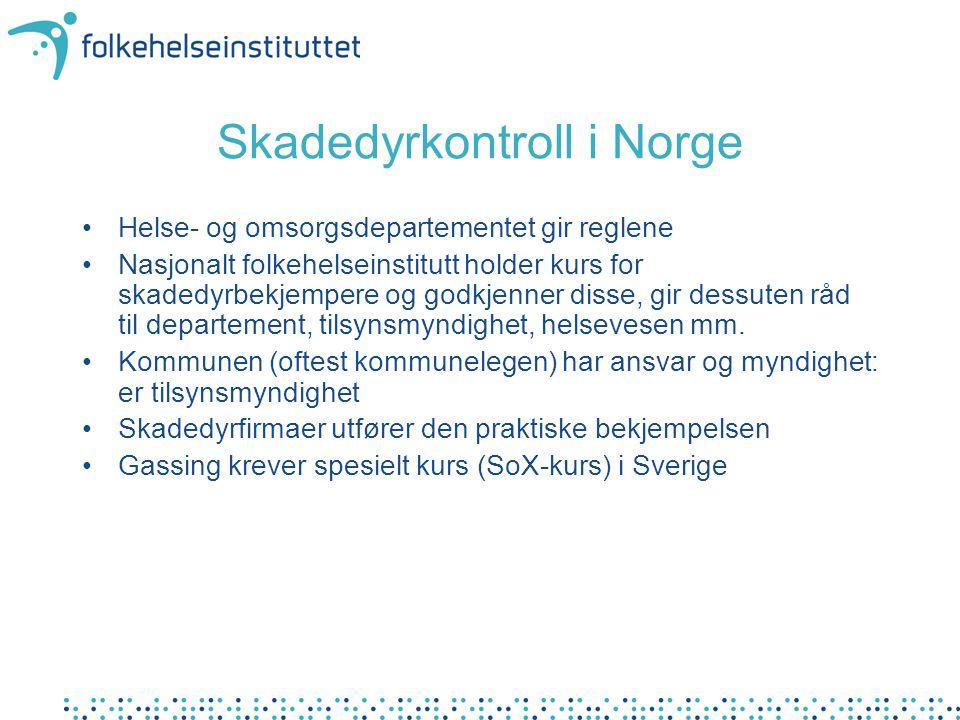 Skadedyrkontroll i Norge